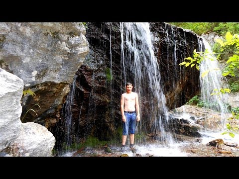 Водопад Че - Чкыш, Алтай путешествия и природа (видео)