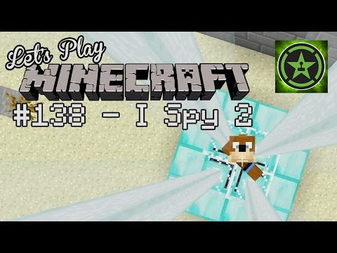 Let's - The Achievement Hunter crew hop into a brand new Minecraft world for the long awaited I SPY 2! RT Store: http://bit.ly/ZvZHS1 Rooster Teeth: http://roosterte...