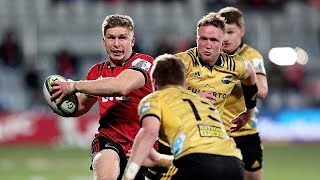 Crusaders v Hurricanes Super rugby Semi-final video highlights