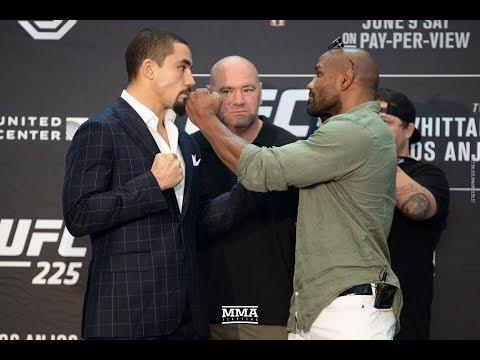 UFC 225 Media Day Staredowns - MMA Fighting