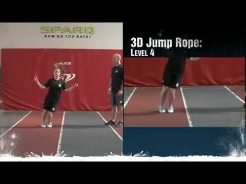 Hockey Workouts – 3D Jump Rope Level 4