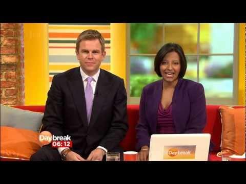 Daybreak - Ailing ITV breakfast show GMT... Daybreak relaunched for the third time in September 2012. The Newshour is back, Lorraine Kelly is back (an hour) and even th...