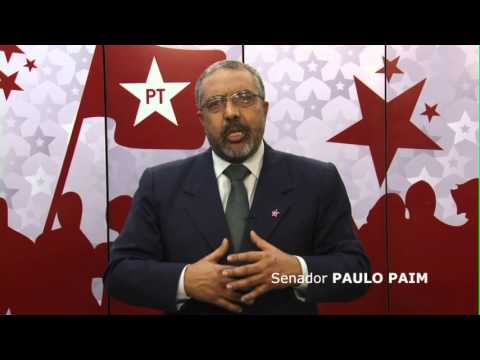 Pinhal Grande é PT: Senador Paulo Paim apoia Selmar