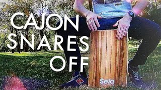 3 Snares-Off Cajon Beats