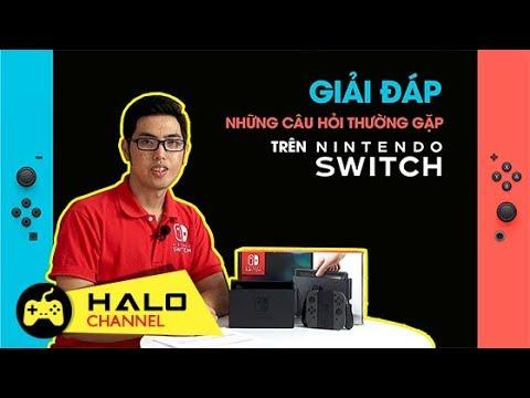 Giải đáp những câu hỏi thường gặp trên Nintendo Switch