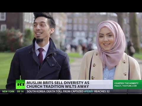 RT - While Christian Churches in the UK are struggling to draw people to worship, the Islamic community there is burgeoning. Some Muslim groups are doing all they...