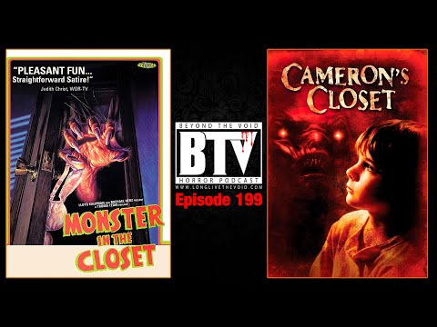 Monster In the Closet (1986) & Cameron's Closet (1988) REVIEWS - Ep199 BTV Podcast