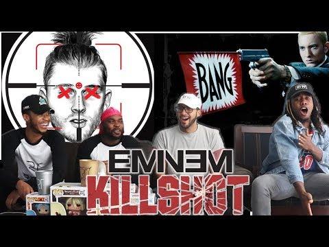 IT'S A CRIME SCENE! Eminem - KILLSHOT (Machine Gun Kelly Diss) REACTION/REVIEW