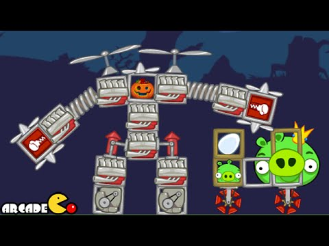 Bad Piggies Funny Inventions - Bad Piggies Halloween Transformer