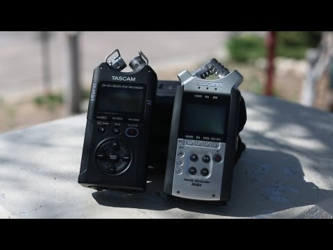 Tascam DR40 vs Zoom H4N – Portable Audio Recorder Throwdown