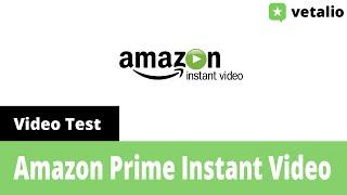 Video Amazon Prime Instant Video Test deutsch MP3, 3GP, MP4, WEBM, AVI, FLV Desember 2018