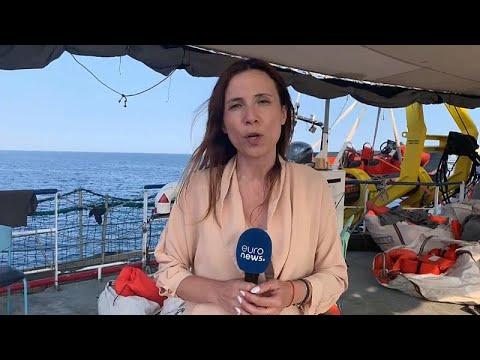 Το euronews επάνω στο Sea Watch 3