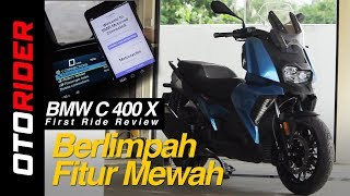 5. BMW C 400 X First Ride Review - Indonesia | OtoRider