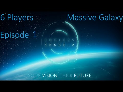 Endless Space 2 | 5 Player Multiplayer | Massive Galaxy