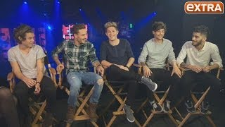 One Direction on Dating Rumors, Midnight Memories and Their Favorite Late-Night Foods