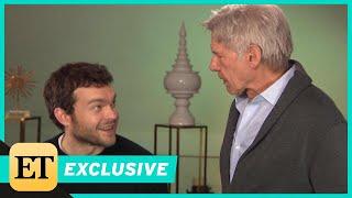 Video Watch Harrison Ford Surprise Young Han Solo Alden Ehrenreich During ET Interview (Exclusive) MP3, 3GP, MP4, WEBM, AVI, FLV September 2018