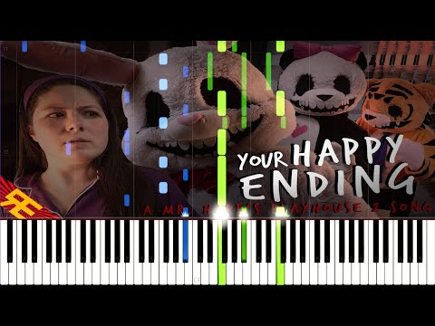 Your Happy Ending - A Mr. Hopp's Playhouse 2 Song by Random Encounters (Piano Tutorial)