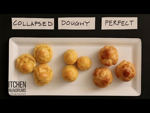 The Perfect Cream Puff - Kitchen Conundrums with Thomas Joseph