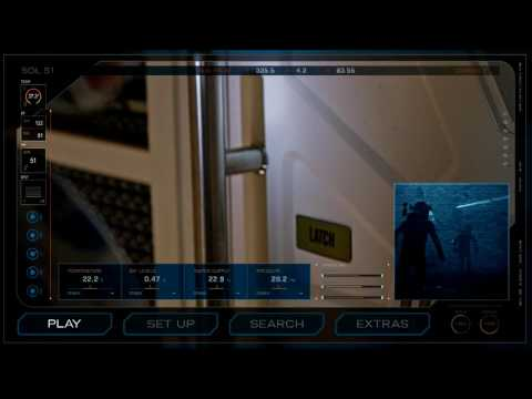 The Martian (2015) blu-ray menu