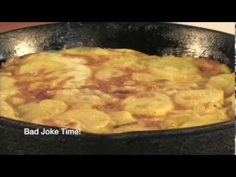 how to make spanish omelette video