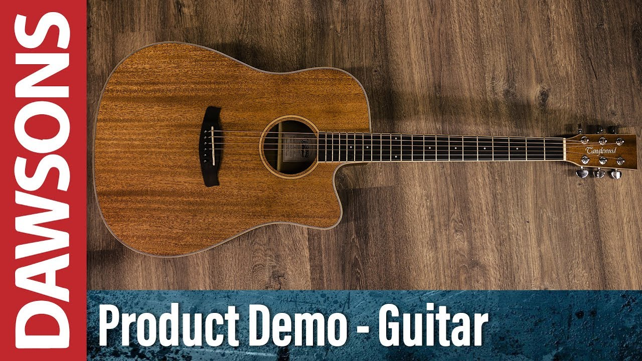 Tanglewood TWU DCE Union Acoustic Guitar Review