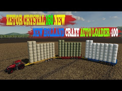 New Holland Crazy Auto Loader +100 v1.2