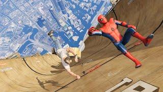 GTA 5 Epic Ragdolls   Spider-Man ep.57 (Euphoria Physics)