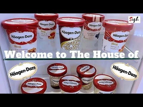 HAAGEN DAZS CAFE In Doha Qatar | Valentine's Day Idea 2019: ICE CREAM Date