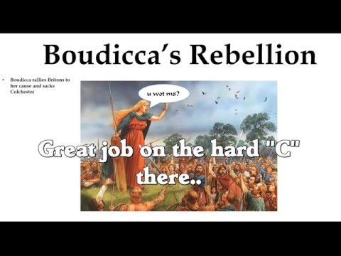 The Boudicca Debate Part 1: A History of Boudicca and the Iceni Revolt of 60 AD.