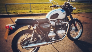 8. Living with the 2017 Triumph Bonneville T100