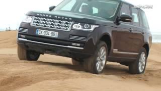 Noul Range Rover isi demonstreaza abilitatile 4x4