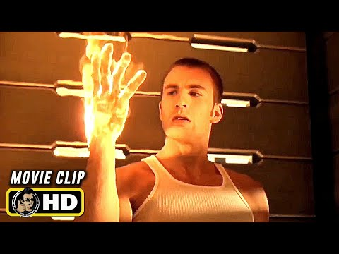 FANTASTIC FOUR (2005) Clip - Testing Powers [HD] Chris Evans