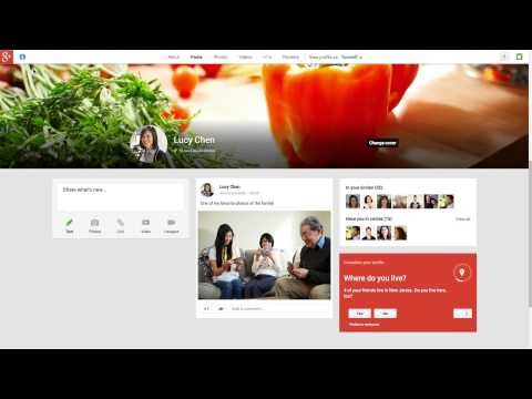 Image of New Google+: How To Start / Join - [New Google+]  - New Google+: How To Start With - Demo Video