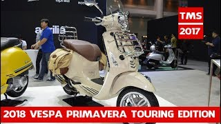 9. New 2018 Vespa Touring Edition price 13490 | Vespa Primavera Touring Edition at 2017 Thai Motor Show