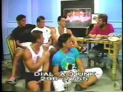 Dial-a-Hunk with OSU Calendar Men in Key West