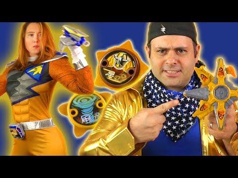 Gold Ninja Battle Morpher! Is It Good? (Power Rangers Ninja Steel)