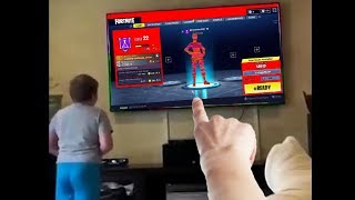 Video my little brother hacked fortnite...then this happened MP3, 3GP, MP4, WEBM, AVI, FLV Juli 2018