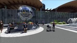 Lumion 6.5 - GTX 960 - Animation City 3D - Rendering - Design Virtual 3D.