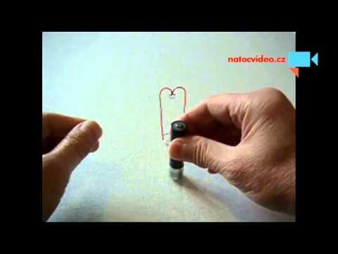 Jednoduchý elektromotor