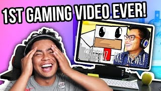 REACTING TO MY FIRST GAMING VIDEO! full download video download mp3 download music download