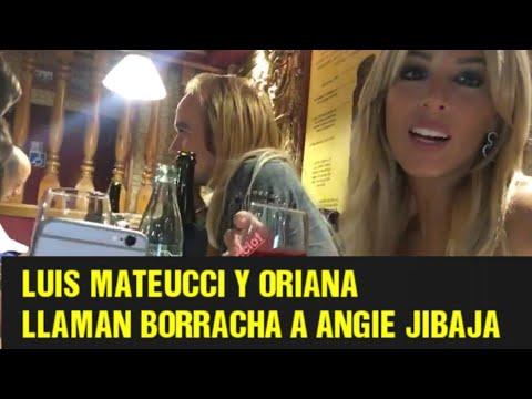 Oriana y Luis LLAMAN BORRACHA a Angie Jibaja y ELLA LE RESPONDE   Paula Bolatti Y SUS MASAJES