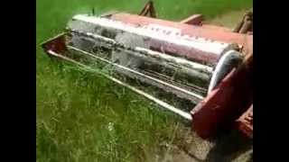 short point of view video I took today cutting some alfalfa/grass has, 6-30-2013