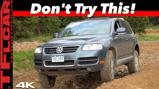 Mundane To Monster: This Simple Change Made Our Cheap VW Touareg Unstoppable Off-Road! by The Fast Lane Car