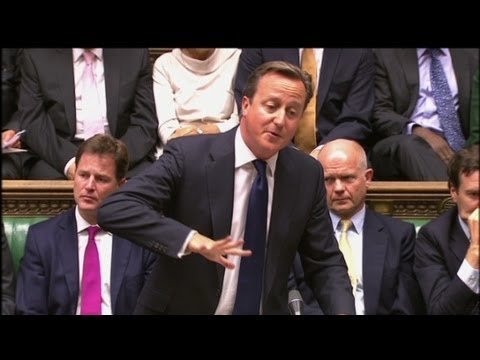 Heated moments in the British parliament debate on Syria