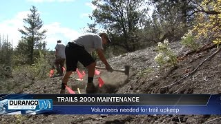 Trails 2000 Trail Work Begins