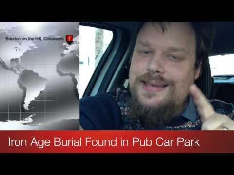 Archaeoscoop: Iron Age Burial found Under Car Park