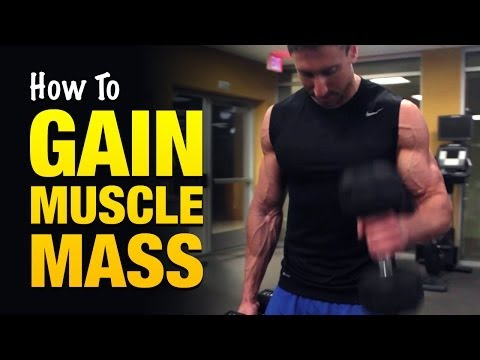muscle - Go here to see how to gain muscle mass fast: http://www.WeightGainMethod.com/view/yt3a This is an