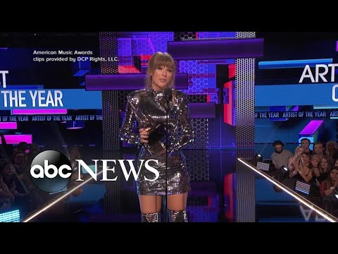 Video Inside Taylor Swift's record-breaking night at the AMAs download in MP3, 3GP, MP4, WEBM, AVI, FLV January 2017
