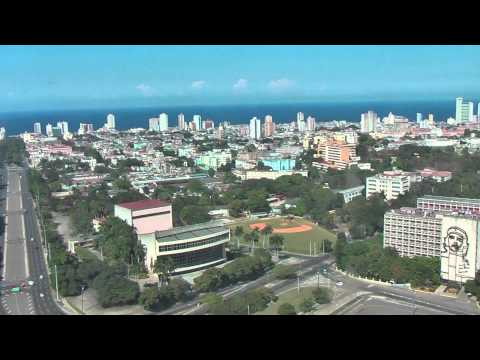 Beautiful view on Havana from the José Martí Memorial