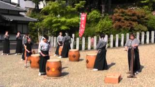 尾張富士預け子大祭(2)さくら太鼓